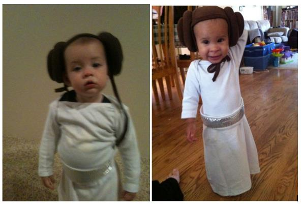 The components ...  sc 1 st  Jenna Brand & Princess Leia costume for babies and toddlers | jenna brand