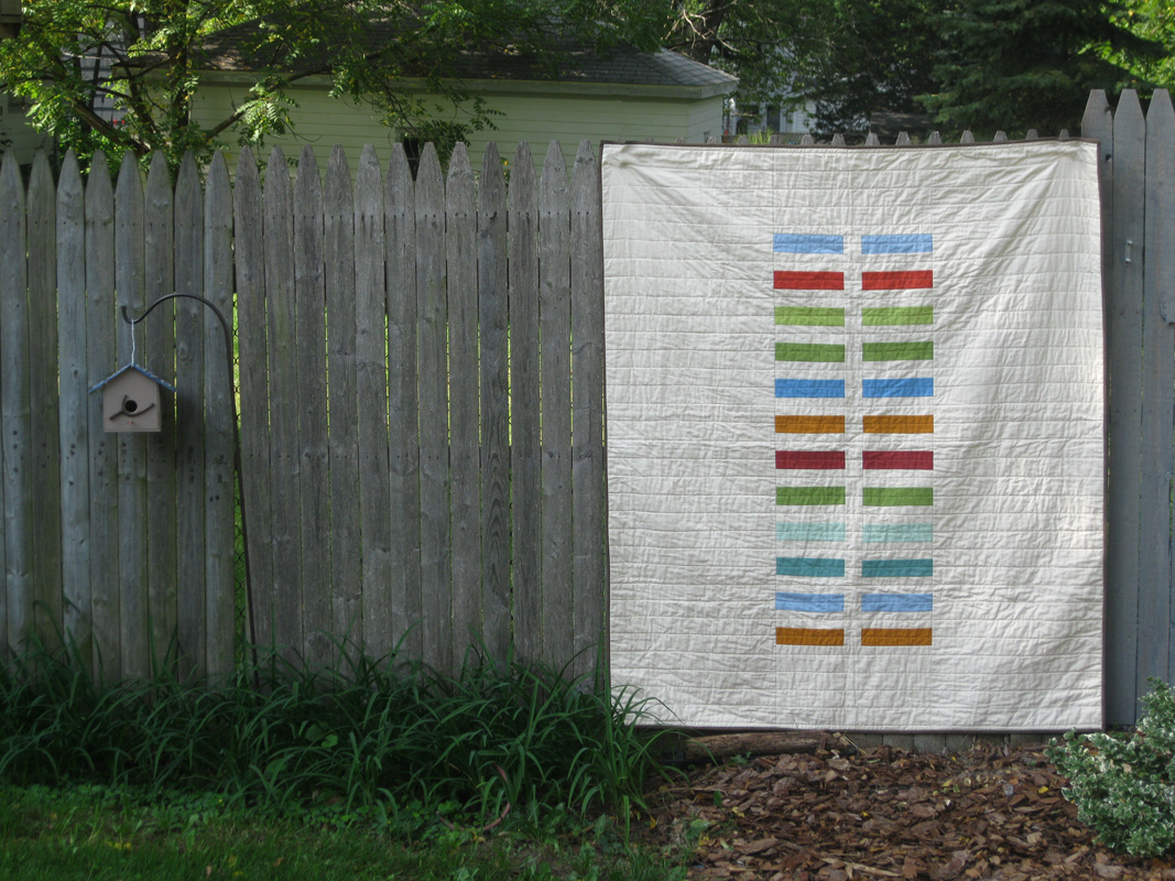 Here There And Everywhere Modern Wedding Quilt Jenna Brand