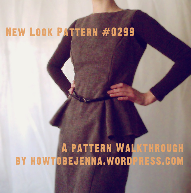 Pattern Walkthrough New Look 0299 Jenna Brand