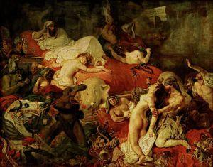 Eugène Delacroix, Death of Sardanapalus, 1827,