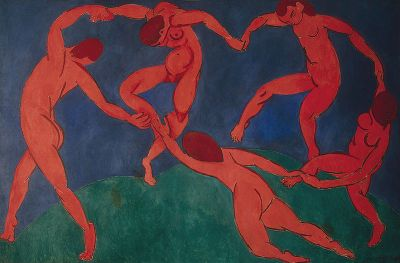 La danse (second version) - Henri Matisse - 1909 - 1910