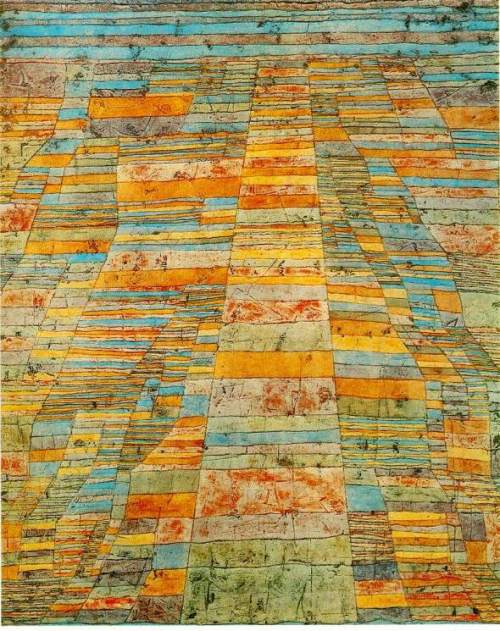 "Paul Klee - ""Highways and Byways"" (1929)"