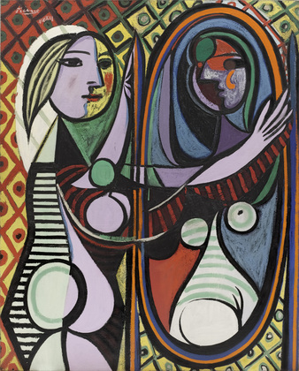 Girl before a Mirror - Pablo Picasso - 1932