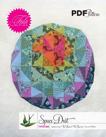Space Dust Quilt Pattern by Tula Pink available HERE