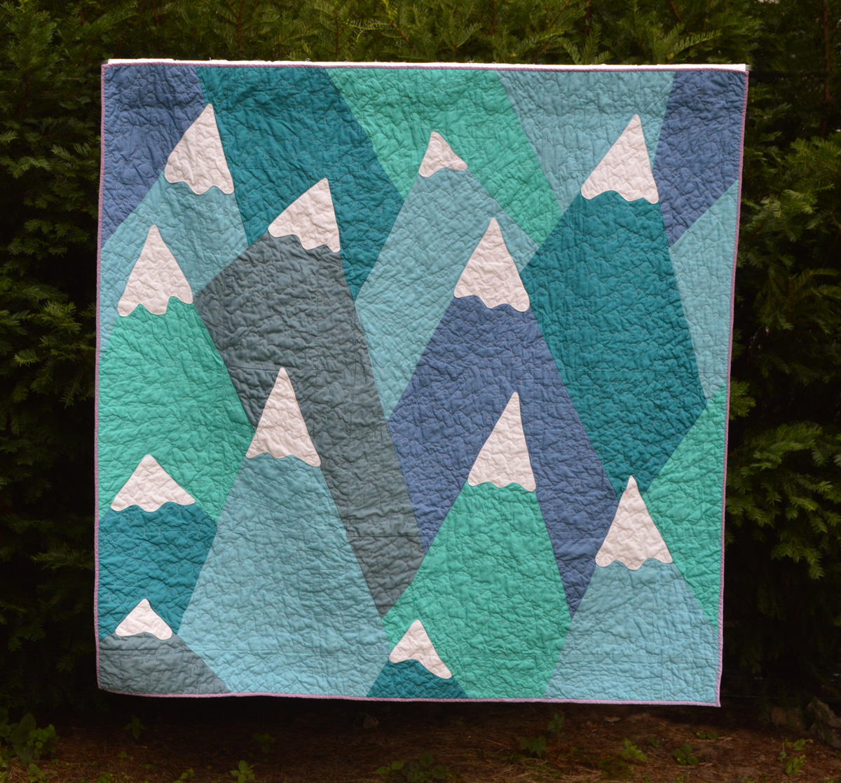 Mountains Quilt Jenna Brand