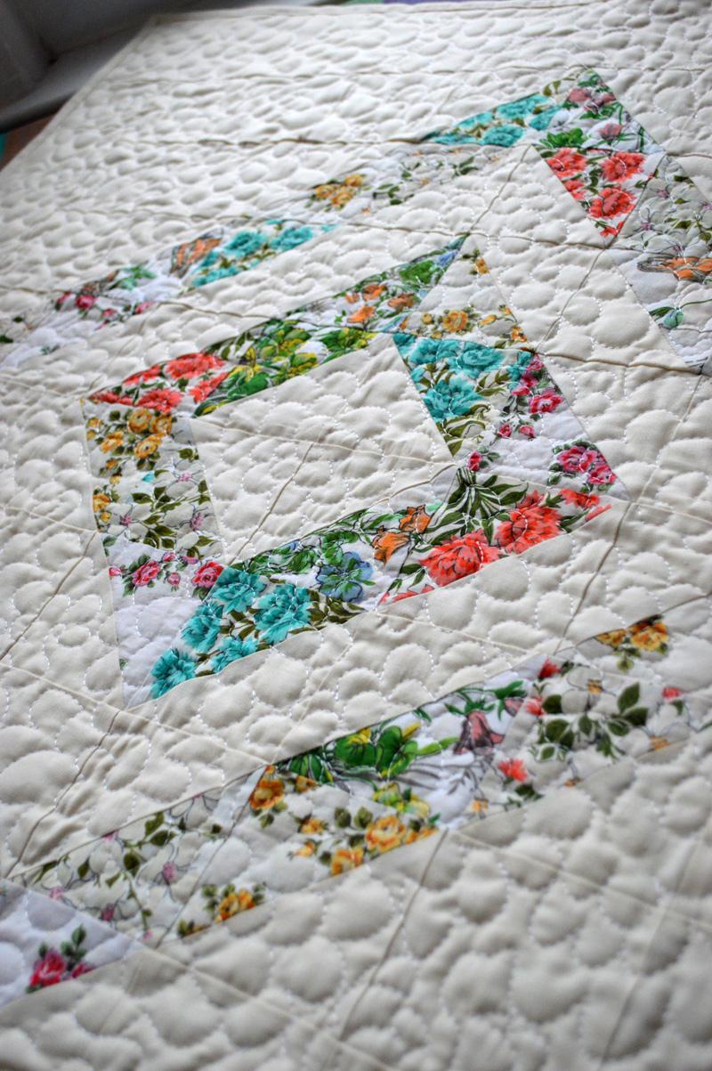 Vintage Hanky Quilt | jenna brand : magnolia quilt - Adamdwight.com